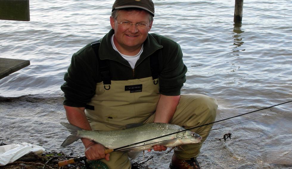 Renkenfischen am Attersee